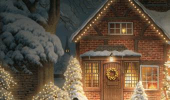 Joulukortit sovelluksella