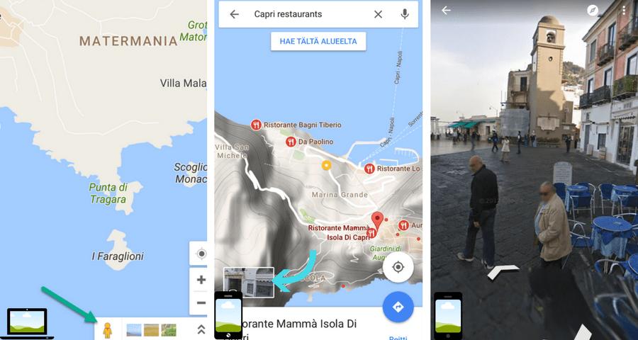Google Maps-StreetView