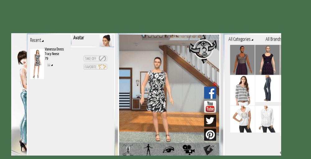 Virtuaalinen vaatteiden sovitus
