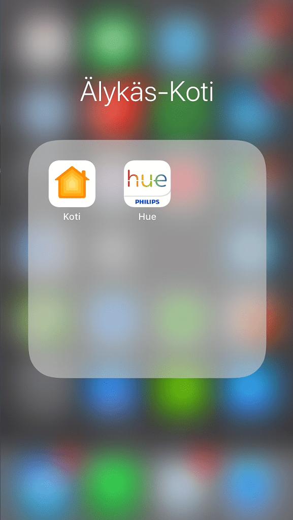 Älykäs koti Siri-ohjauksella