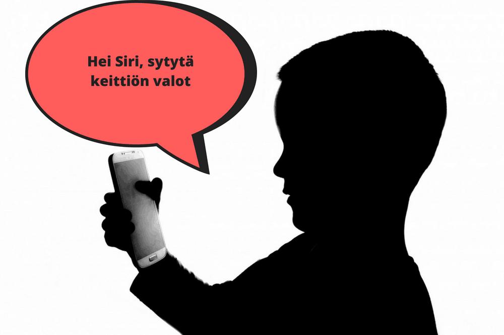 Puheella ohjattava älyvalaistus