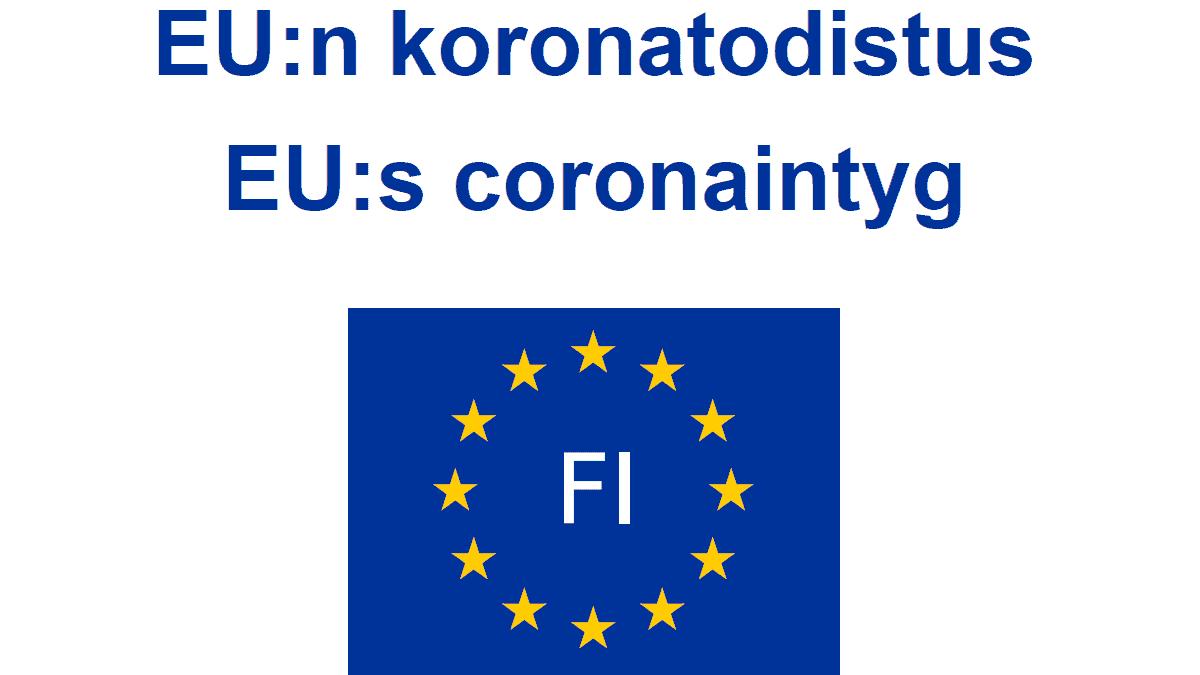 EU koronapassi
