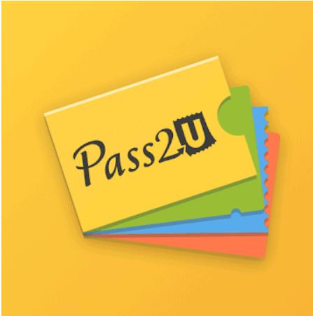 Pass2U wallet -sovellus Android ja Iphone