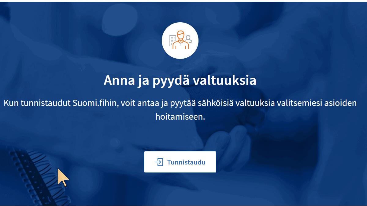 SuomiFI-valtuutukset